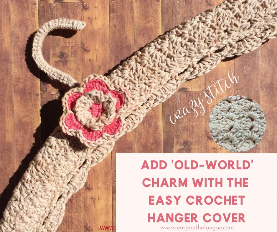 Easy Crochet Hanger Cover FB Crochet & Knitting Christmas Gift Ideas - Crochet & Knitting Christmas Gift Ideas