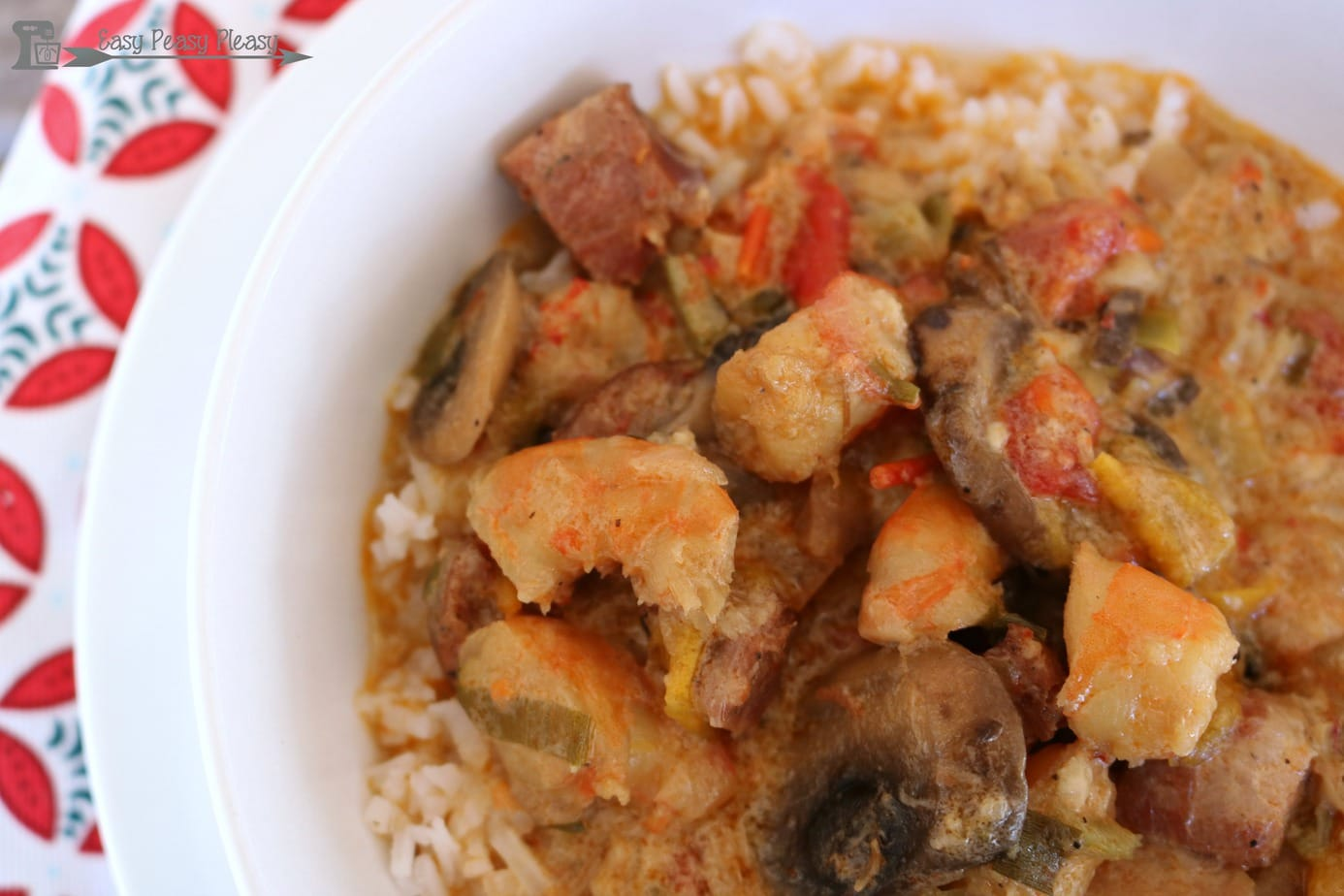Easy And Hearty Etouffee + Giveaway