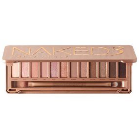 The Urban Decay Naked3 Eyeshadow Palette is a gorgeous eyeshadow palette with 12 rose-hued neutral eyeshadow shades in every finish. This very versatile