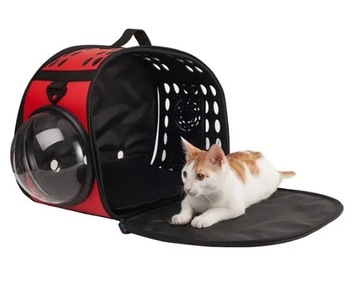 Pet Carrier Foldable Puppy Cat Outdoor Travel Bags