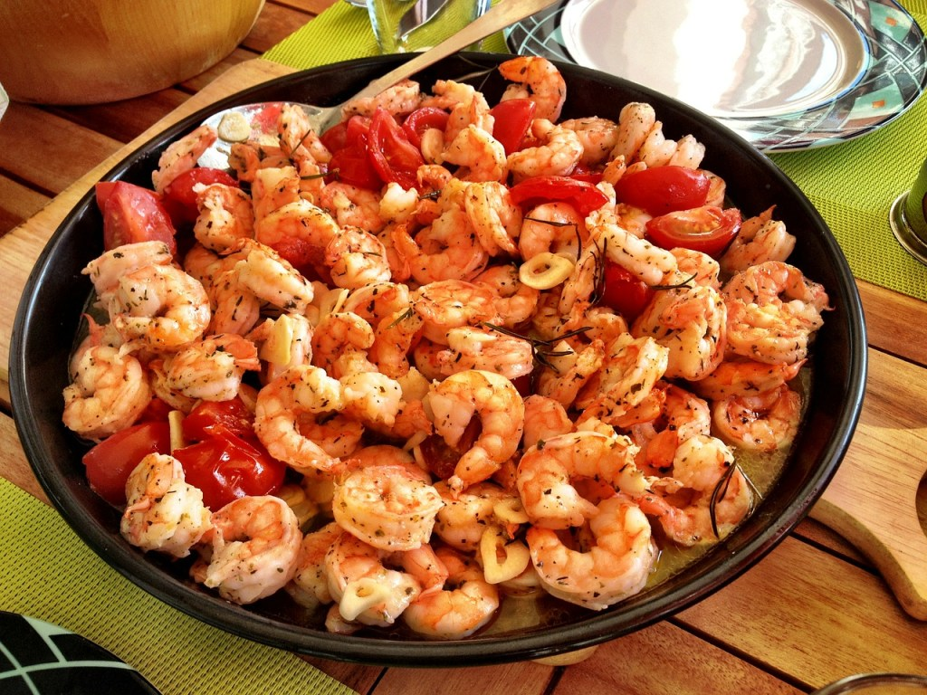 grilled shrimp marinated spicy and easy