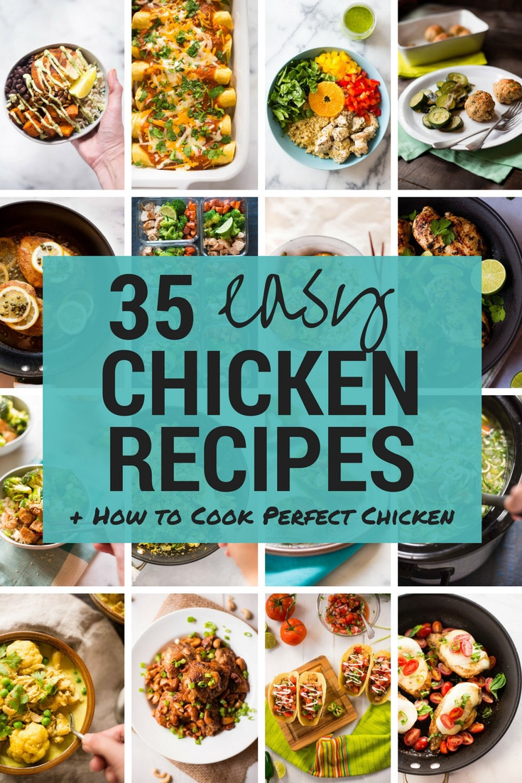 quick easy chicken recipes