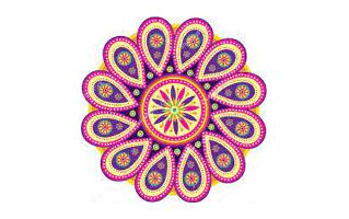 Attractive Rangoli Design