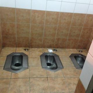 北京の公衆トイレ