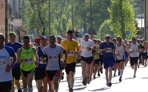マラソンのタイムとスピード