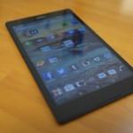 使い勝手の良いサイズ!SONYのXperia Z3 Tablet Compact