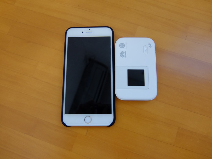 iPhone 6 Plus と比較