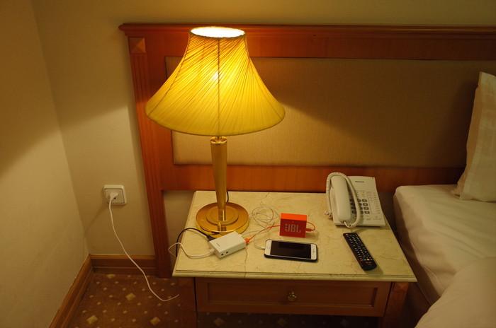 カシムラ 海外旅行用 2口電源タップを使うと便利