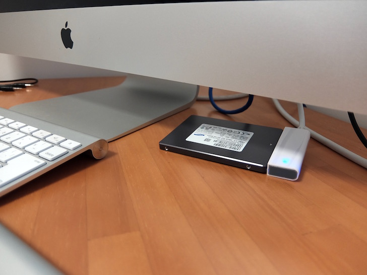外付けSSDを使って古いiMacを復活させる