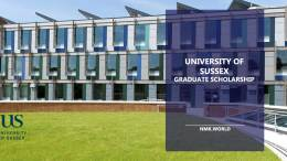 Sussex Graduate Scholarship Program