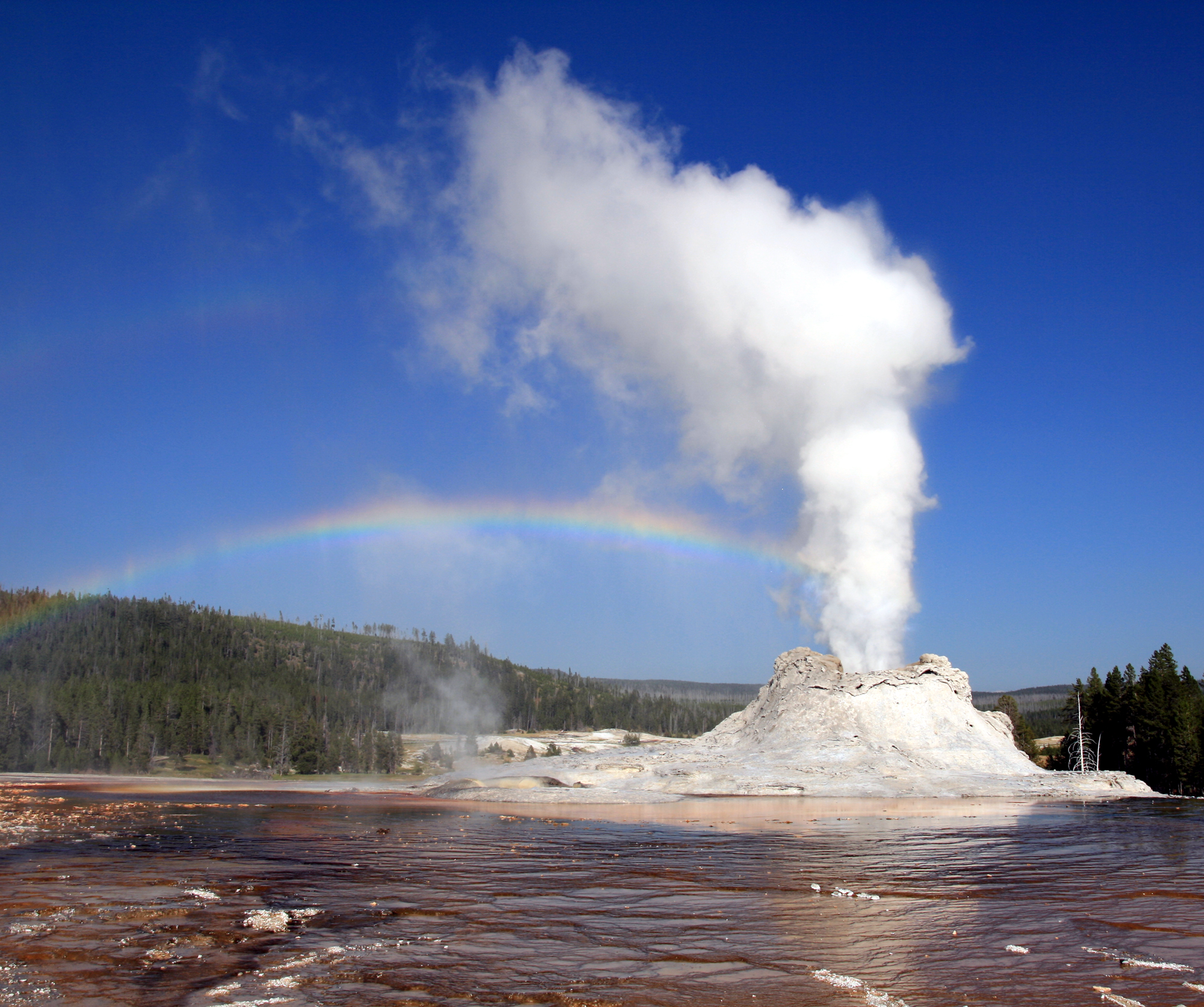 Geyser And Hot Spring Facts For Kids