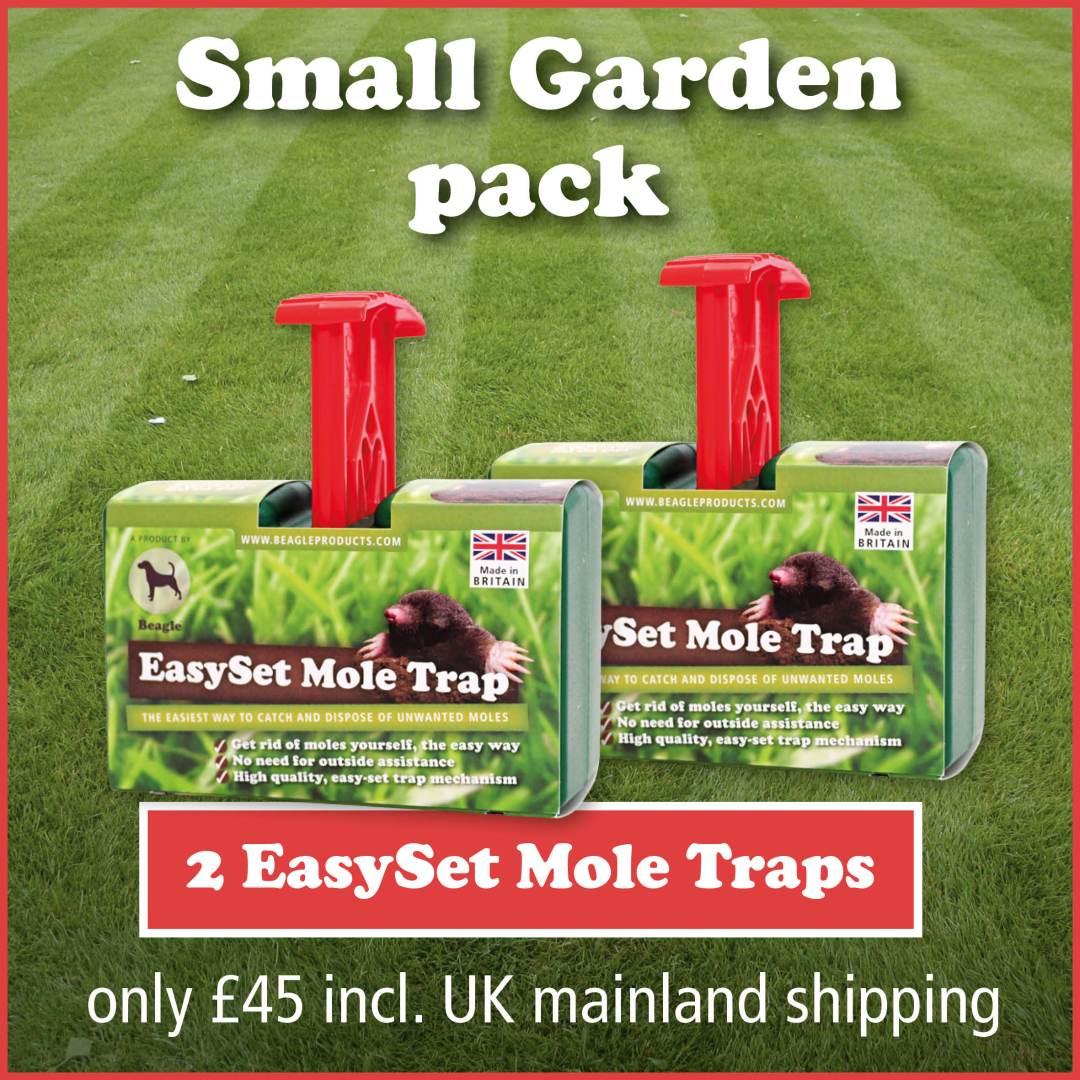 Small Garden Pack – 2 traps: £45 incl. UK mainland shipping