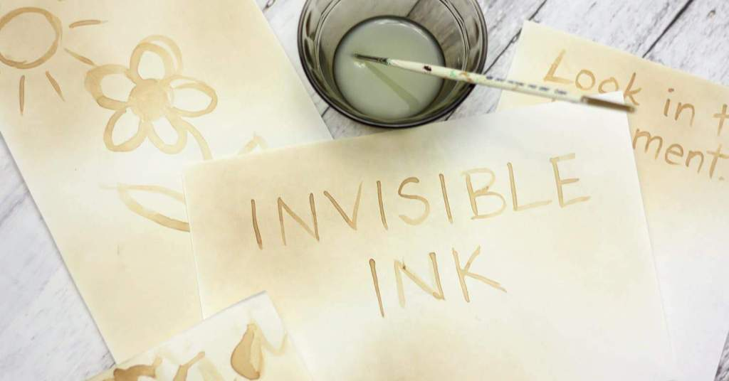 Invisible Ink and Oxidation