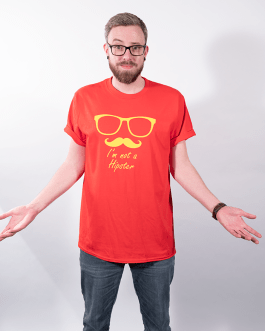 I'm Not A Hipster – Premium T-Shirt or Hoodie