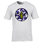 Manchester Bee – Blue/Purple Mosaic