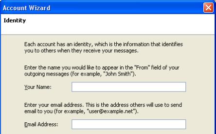 thunderbird account screen 2