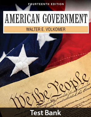 American Government 14th Edition Test Bank By Volkomer