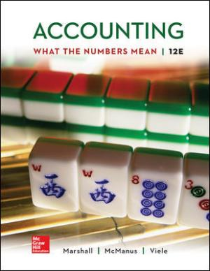 Accounting What the Numbers Mean 12th Edition Solutions Manual By Marshall
