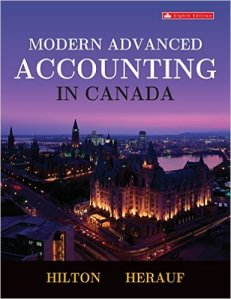Modern Advanced Accounting in Canada 9th Edition Test Bank By Hilton