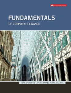 Fundamentals of Corporate Finance 10th Canadian Edition Test Bank By Ross
