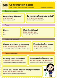 Easy to Learn Korean 908 - Conversation Basics (Part One).