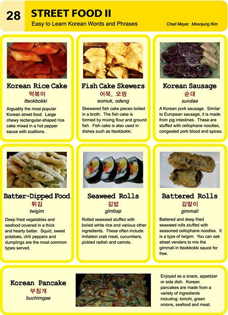Calories Easy To Learn Korean Etlk