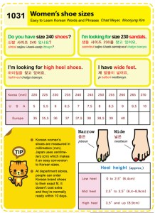 1031-Womens shoe sizes