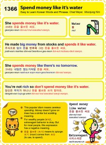 1366-Spend money like its water
