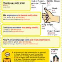 Easy to Learn Korean 1495 - Thumbs up (part one).