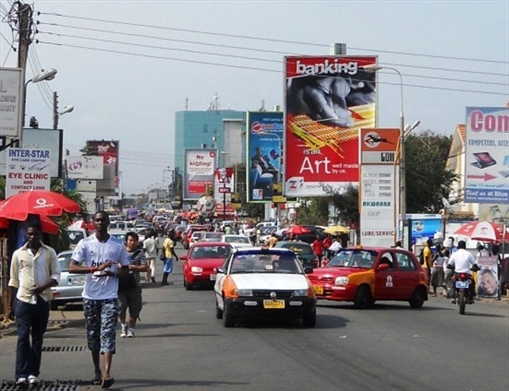 Image result for streets of accra