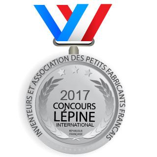 Médaille argent Lépine 2017