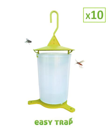Piège à mouche révolutionnaire - Lot de 10