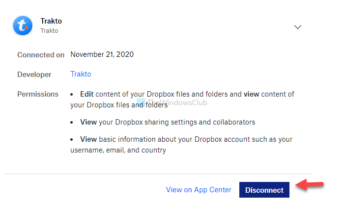 How to install or connect and use apps in Dropbox