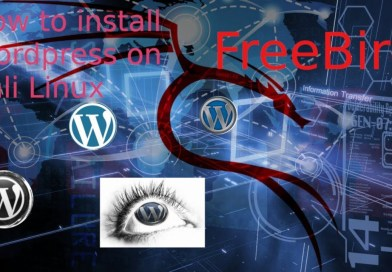 How to install wordpress on kali linux