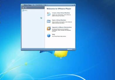 Open Existing Virtual Server using VMWare Player