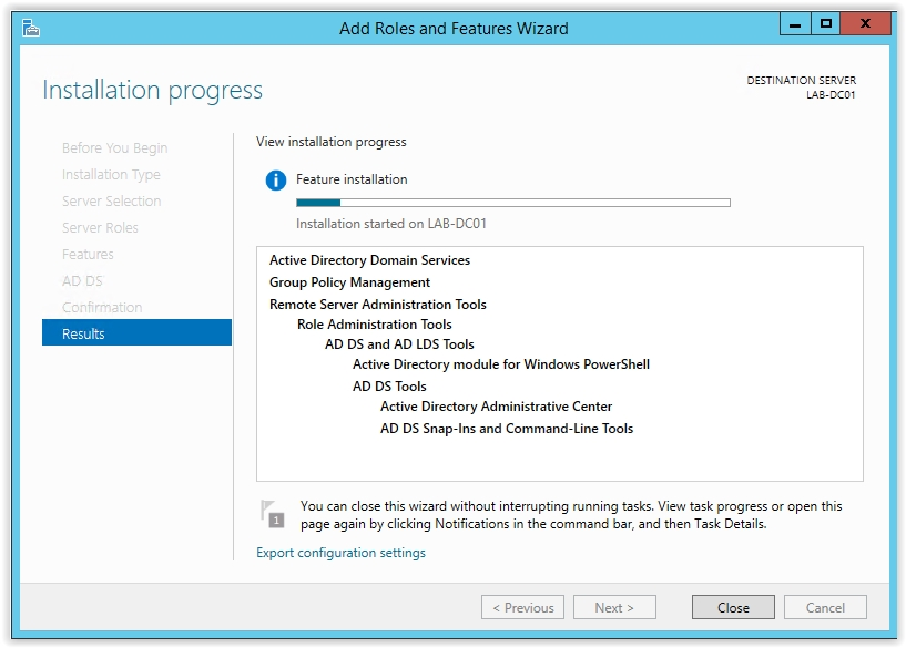 How to Install Active Directory on Windows Server 2012 R2 - 10