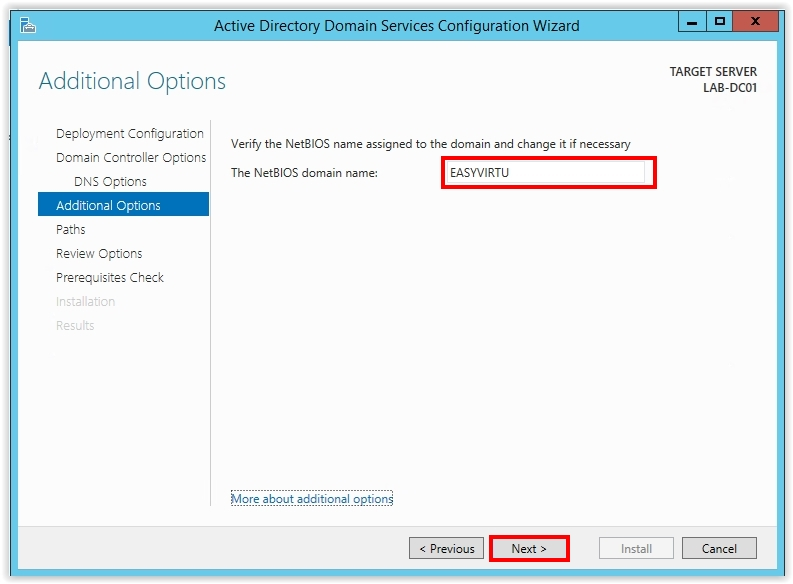 How to Install Active Directory on Windows Server 2012 R2 - 15