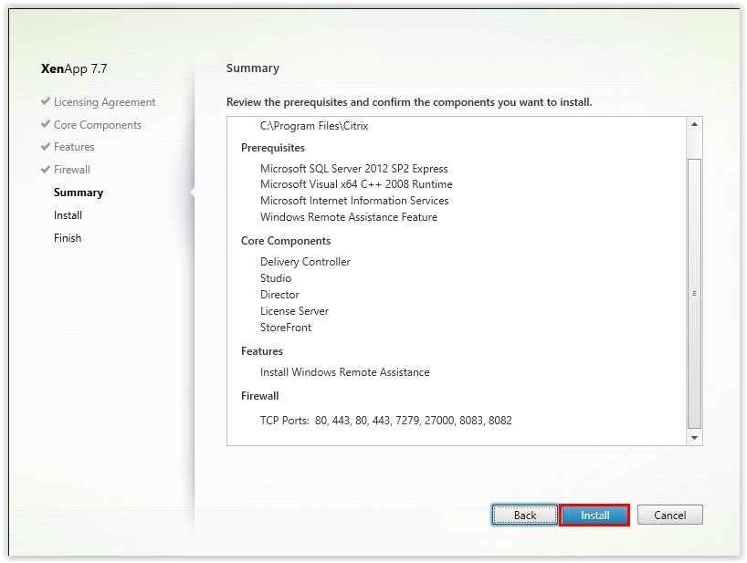 Citrix_XenApp_7.7_Install_Core_Components_10