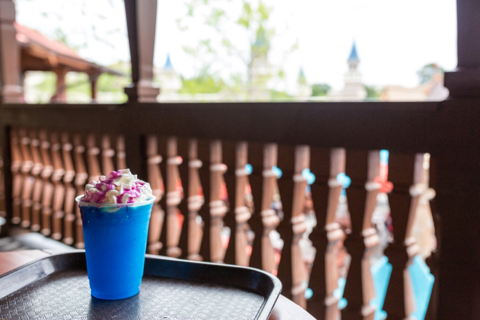 Blue Raspberry Slush Magic Kingdom