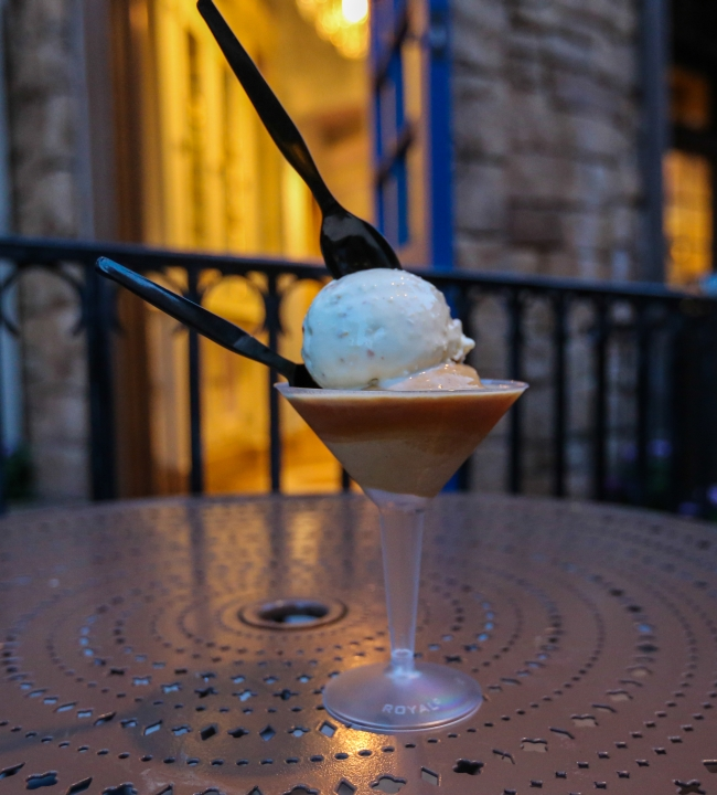 Epcot France Ice Cream Martini L'Artisan de Glaces