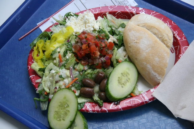 Greek Salad Cosmic Rays Review Magic Kingdom