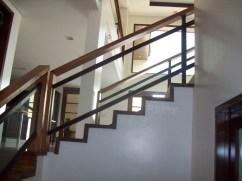 Narra Stair, Narra Handrail, Kamagong Baluster - BF Homes