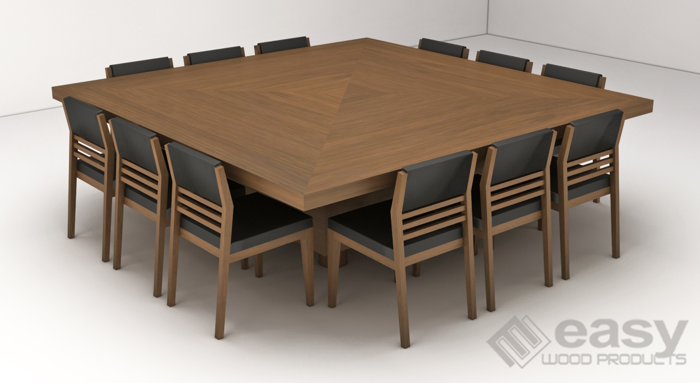 CUBO TABLE + MANILA SIDE CHAIR