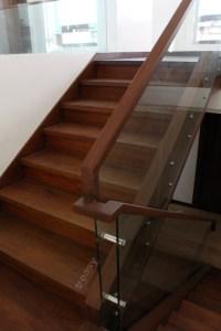 Narra Stair (Wengue Finish) - Lim Residence