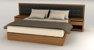 BEDS & NIGHT TABLES