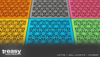 LATTICE - WALL ACCENTS - DIVIDERS