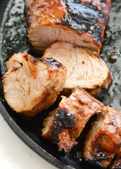 This Easy BBQ Pork Tenderloin has just six basic ingredients! This tenderloin comes out perfectly tender and loaded with flavor every time!