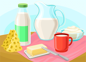 Gluten Free Diet: Dairy Products