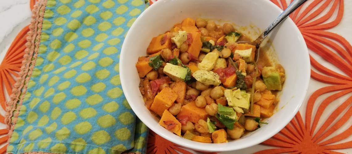 Creamy Vegan Sweet Potato Curry