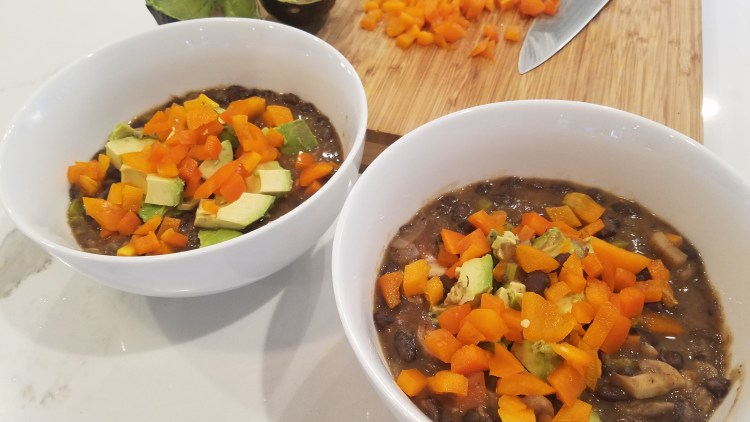 Zesty Vegan Black Bean Stew